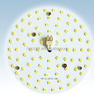 Hottest round ceiling light led mc pcb board for light resource replacement with free sample