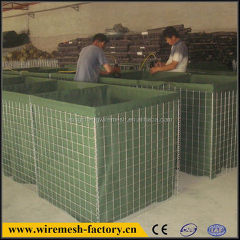 hesco military blast wall security wall