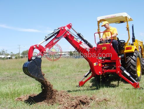 tractor attachment (tractor implement backhoe)