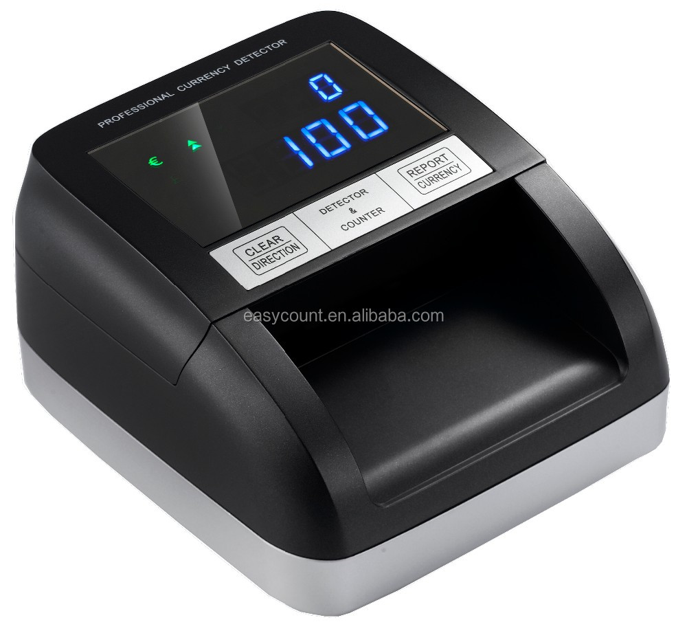 EC330 Counterfeit Detector with LCD Totalizer for Fake Note