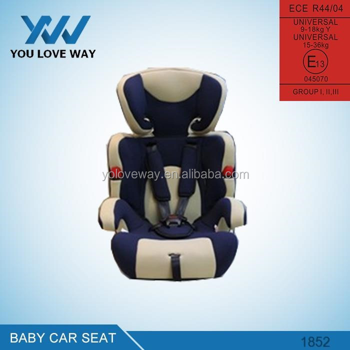 Classic Design baby car seat with isofix from China baby car seat factory