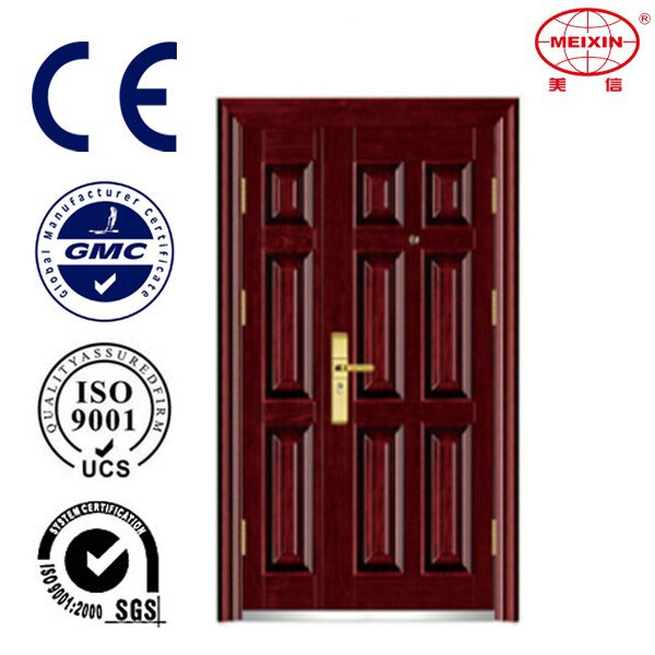 China Supplier Commercial Steel Double Entry Door with OEM