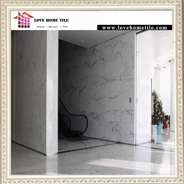 China SNW086 Snow Calacatte White Marble