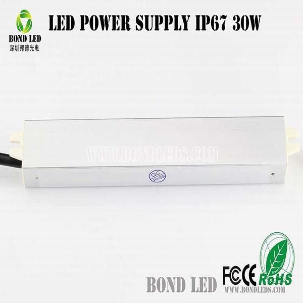 Waterproof Constant Current Led Driver 60W 1500mA 30-40V IP67 10series in 6paralle
