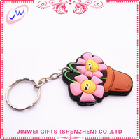 large supply reasonable price pvc sport keychain