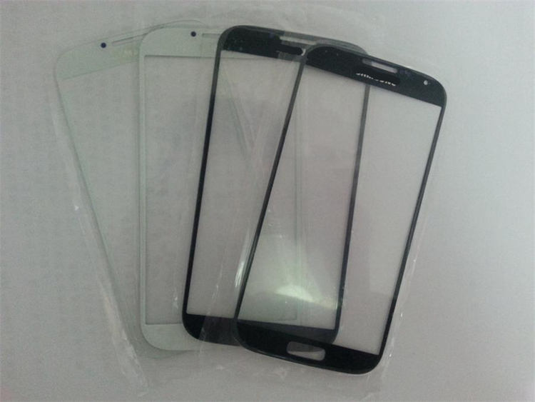 Cell phone cover glass LCD touch external screen For Samsung I9500 S4