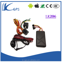 LKgps ACC/door/SOS alarm remote engine off fuel with gps/gsm tracker with microphone