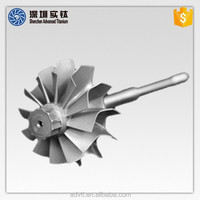 Titanium Alloy Auto and Garrett Turbo Parts in High Quality