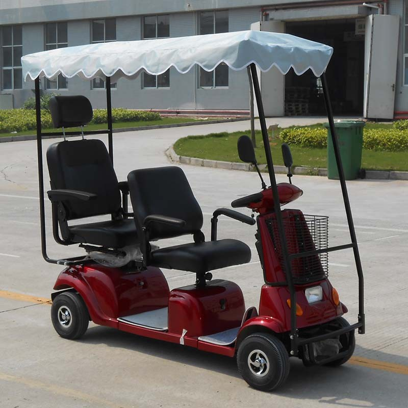 Ce Approved Electric Mobility Scooter With 2 Seats Dl24800