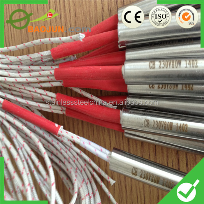 12 x 100 single electric heating rod for packing machine