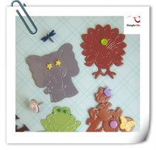 Assorted travel animal world scrapbook combo metal brads