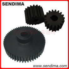 High precision customized plastic tooth gears wheel cnc machined nylon plastic worm gear