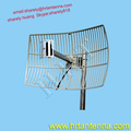 2300 ~ 2700MHz 21dBi Wideband Outdoor Directional Point To Point Grid Parabolic Antenna TDJ-2327SP6