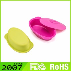 Fast Production Top Class Custom Fitted Colorful Silicone Food Storage Containers