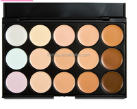 Private Label 15 Colors Professional Cosmetic Concealer Palette Salon Party Contour Palette Makeup Eyeshadow Palette