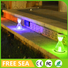 Newest ABS Landscape Yard Park Decorative Solar Garden Light With White Colorful Mode