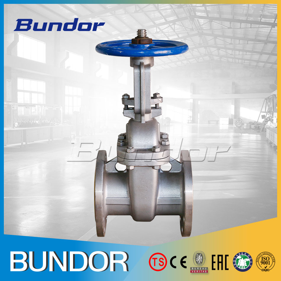 GS DN80 PN16 Non Rising Stem Cast Steel Gate Valve