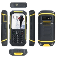 swimming diving waterproof small size easy carry feature phone for people working in hard condition