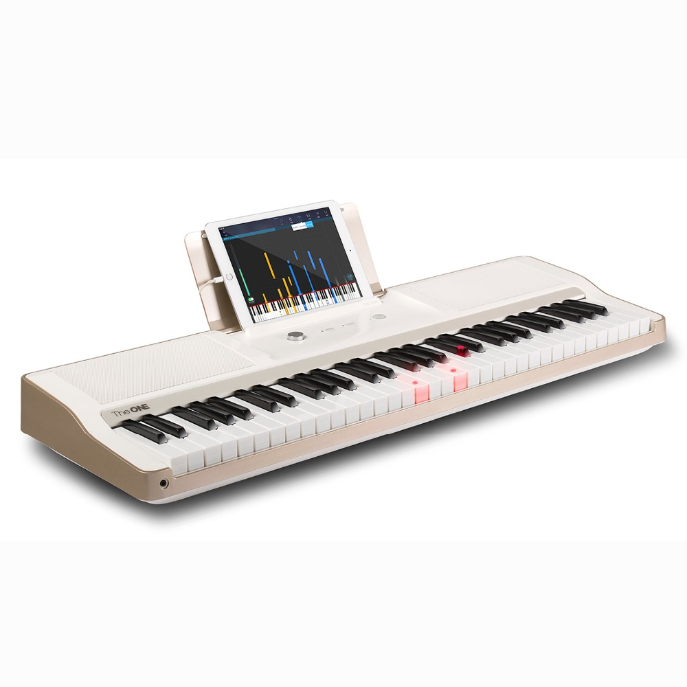 2000 Demo Songs!!The ONE light 61 key electronic interactive teaching piano backlit laptop keyboard piano