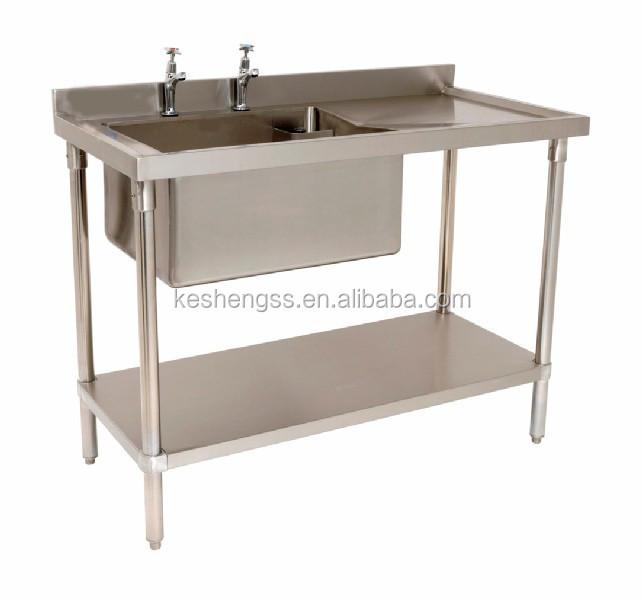 Free Standing Stainless Steel Sink : Buy free standing stainless steel kitchen sink industrial stainless