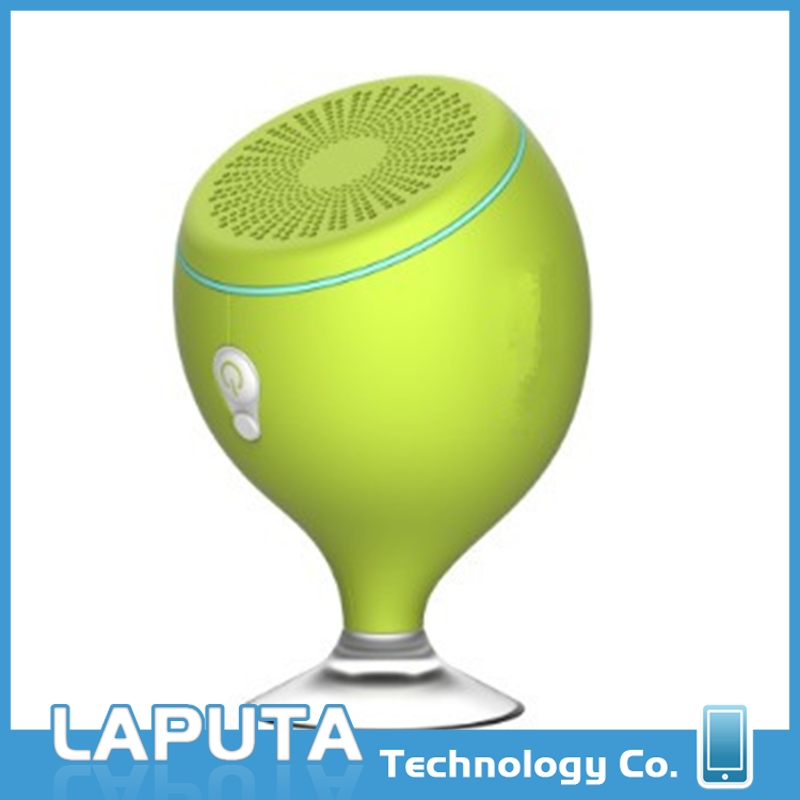 Multifunctional sucker bluetooth speaker waterproof bluetooth shower speaker,sucker bluetooth speaker with suction cup