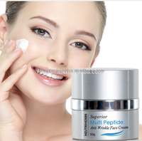 Raw material speckle removing whitening cream anti aging superior multi peptide face cream