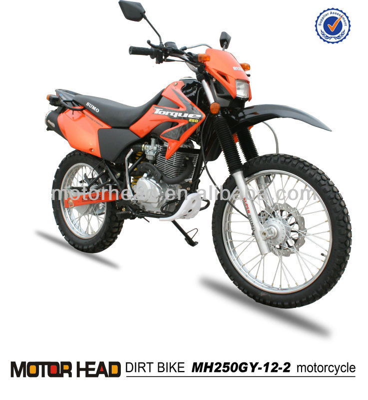 cheap dirt bike 250cc CB Engine MH250GY-12 motorcycle