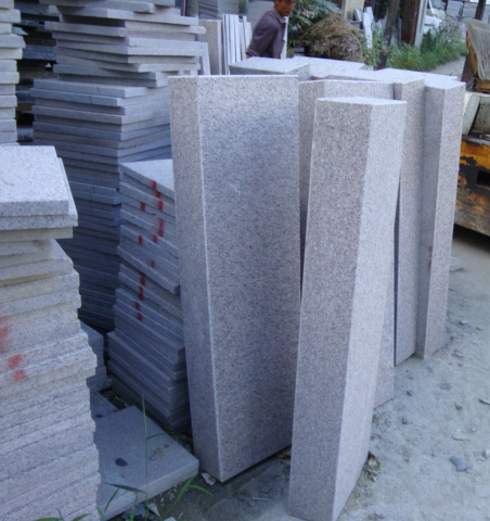 G350 G352 G603 granite outdoor stair steps lowes