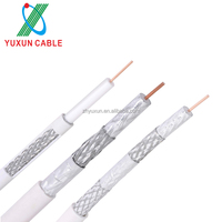 Manufacturer RG-213 RG-6 U Cable Double /Tri /Quad Shield Coaxial RG-6