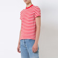 Custom free design wholesale 100% cotton wholesale striped t-shirt