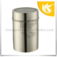 Stainless Steel Tea Coffee Sugar Canisters