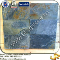 Natural Stone Rectangle Rusty Slate Floor Tiles