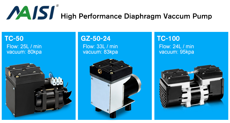 diaphragm vacuum pump for medical equipment 220v/110v