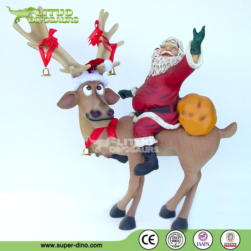 Christmas Animated Life Size Santa