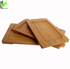 Wholesale Snack Round Bamboo Charger Plate