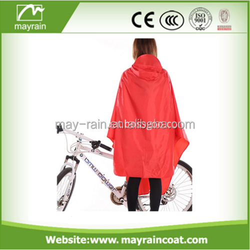 Reusable bicycle Poncho /Bickcle Rain Jacket /bicycle Rain Suit for Promotion