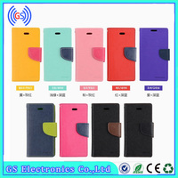 New PU Leather Mobile Phone Accessories Mixed Color flip case for samsung galaxy fame