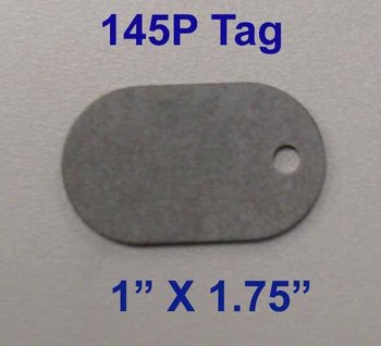 Cable Fiber Tags 145P Tags & 145C Tags