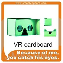 logo branding gifts 3d glasses virtual reality cardboard vr viewer google cardboard 3d vr glasses