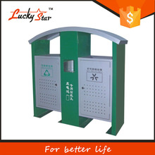 660L plastic trash can for hotels, outdoor and hospitals