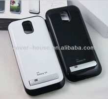 High capacity 3200mah external battery back power case for Samsung Galaxy S4 I9500