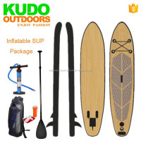 High quality professional fish surfboard Inflatable SUP stand up paddle board