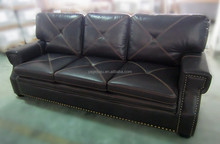 Home furniture living room sofa leather sofa set