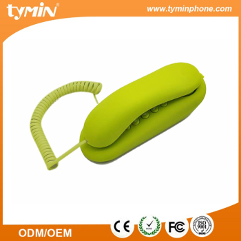 High quality wall mounted slim phone with partial rubber oil (TM-PA019)