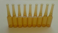 small amber cosmetic Ampoules glass bottle