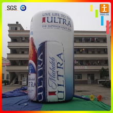 Custom outdoor gaint advertising tube inflatable banner