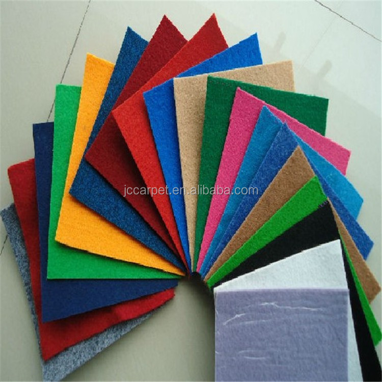 Cheap price Popular new design plain carpet exhibition carpet