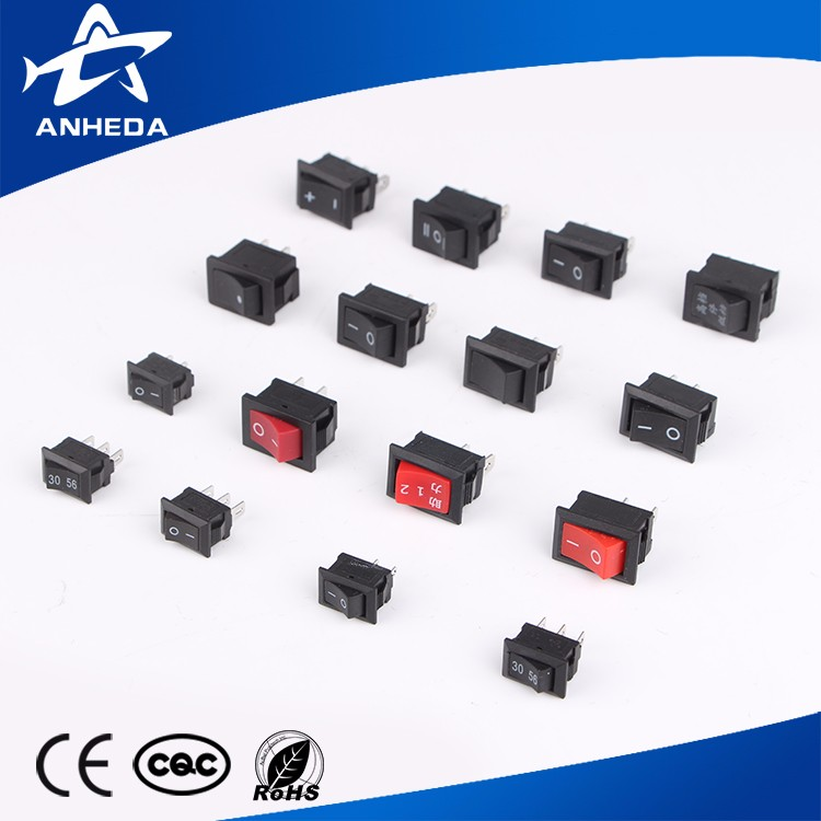 Hot sale on-off illuminated 120v rocker switch