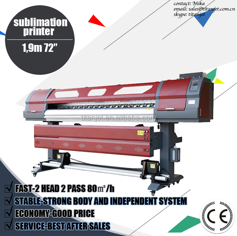 1,9 direct to transfer paper sublimation printer,plotter printer sublimation