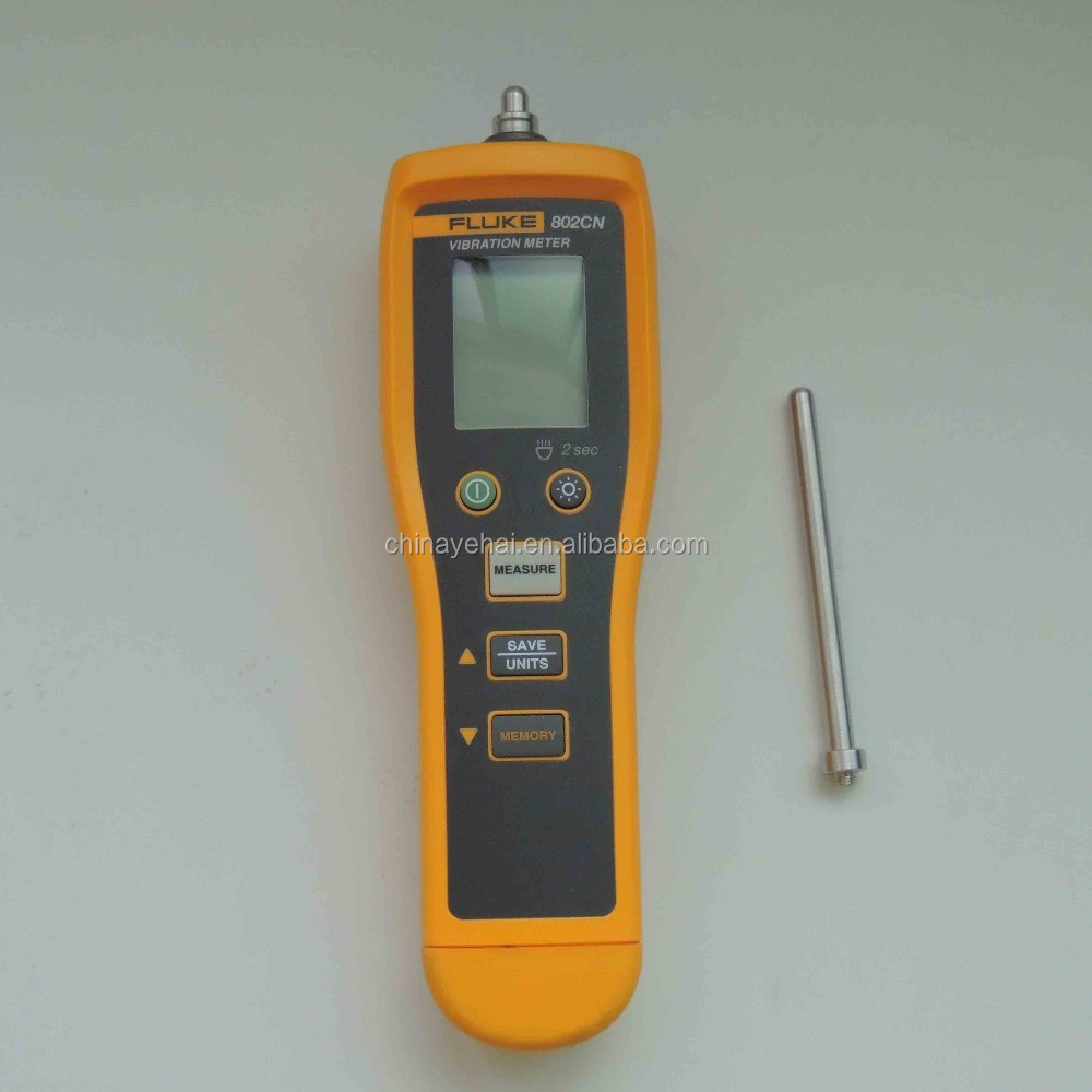 Protable New Arrival Fluke 802 Digital Vibration Meter